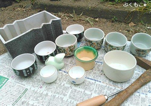 アイキャッチ陶器リメ鉢